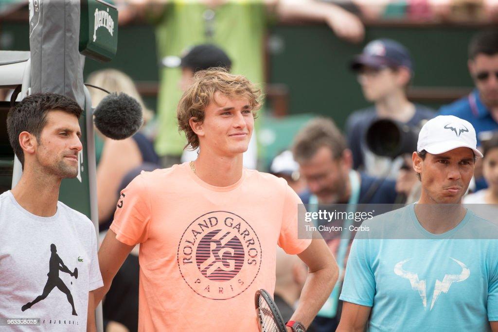 2018 French Open Tennis Tournament. Roland Garros. Paris. France. : Nachrichtenfoto