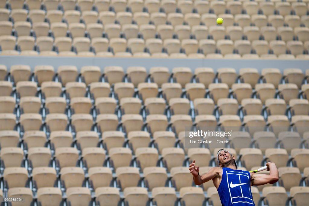 2018 French Open Tennis Tournament. Roland Garros. Paris. France. : Photo d'actualité