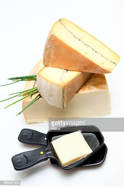 Französische oder Schweizer raclette