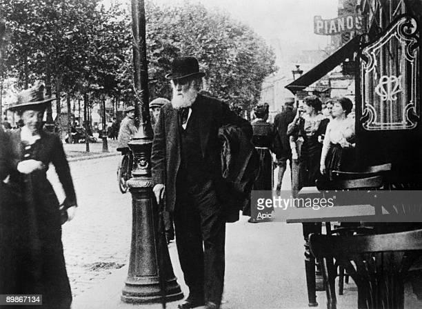 French painter Edgar Degas c 1905 in Paris