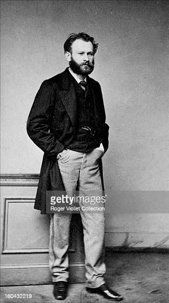 French painter Edouard Manet posed circa 1860
