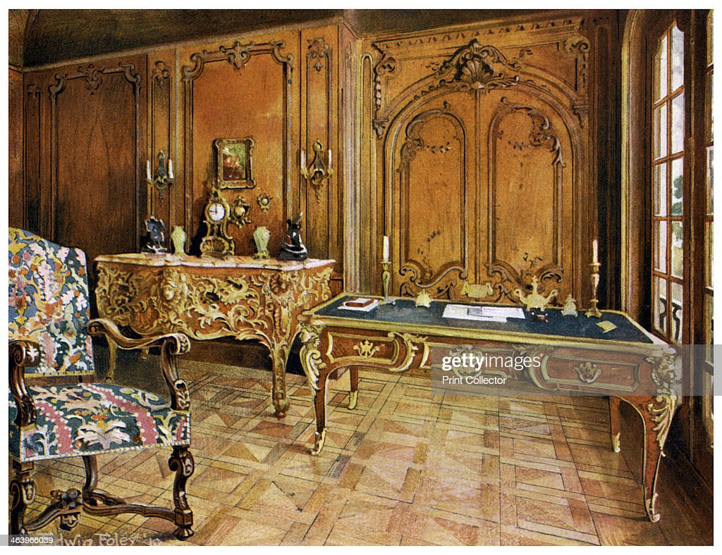 French Panelled Room, Wallace Collection, London, 1911 1912. Style Of The