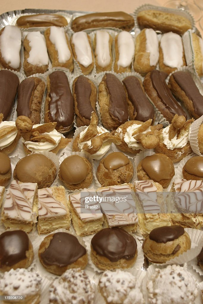 French pastries : Stock Photo