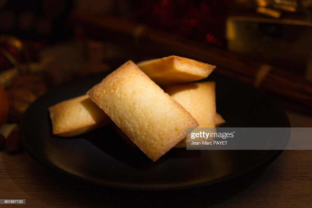 French pastry made home : Financier : Photo