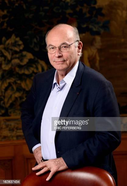 French pedopsychiatrist and writer Boris Cyrulnik poses on February 28 2013 in Paris AFP PHOTO ERIC FEFERBERG