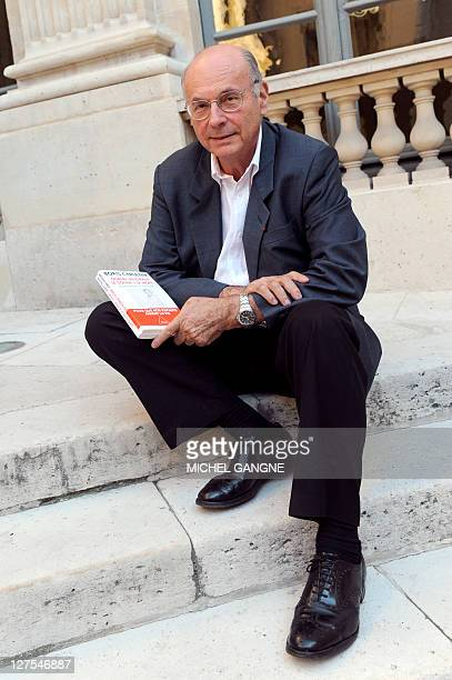 French pedopsychiatrist Boris Cyrulnik who was in charge by French government of a mission on the suicide of children and young people poses with his...