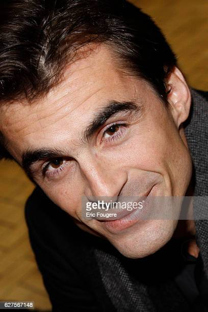 French Philosoph and writer Raphael Enthoven Photographed in PARIS