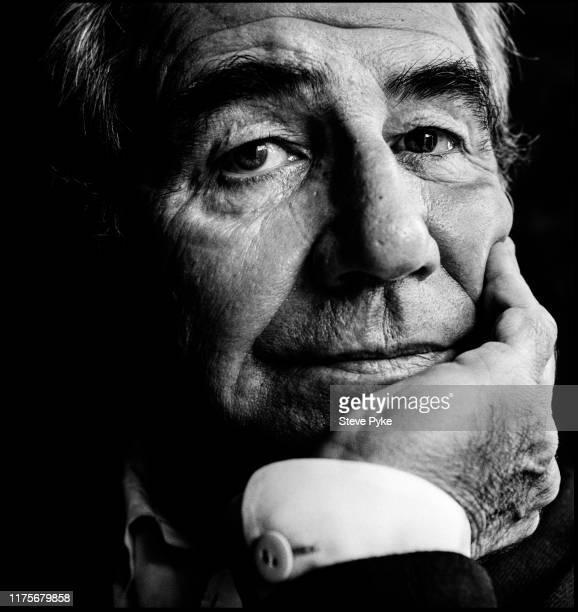 French philosopher and cultural theorist, Jean Baudrillard , Paris, 6th December 1991.