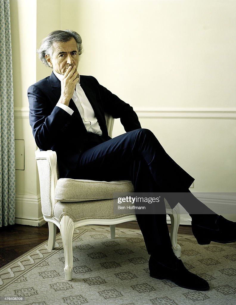 French philosopher Bernard-Henri Levy is photographed for Wall Street Journal on January 13, 2011 in New York City.