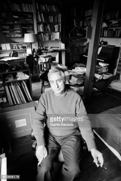 French Philosopher Roland Barthes, 24th June 1975