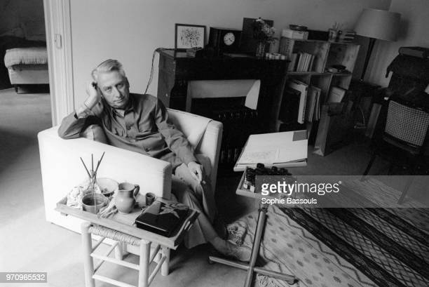 French Philosopher Roland Barthes, Paris, 9th June 1978