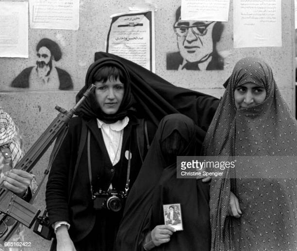 French photojournalist Christine Spengler covered the Iranian revolution of 1979 In 1979 the ruling shah was forced out of the country by...