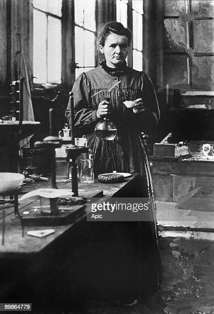 french physicist Marie Curie Nobel prize of Physics in1903 and Nobel prize of Chemistry in1911 here in her 1st laboratory in Paris in 1896