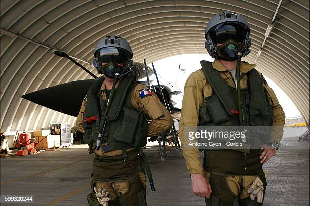 French pilots at Kandahar air base France is providing aerial support to OEF and ISAF operations The French pilots are supporting the ground troops...