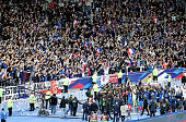 paris france french players celebrate qualification