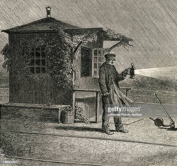 A French Pointsman In The Late 19Th Century From French Pictures By The Rev Samuel G Green Published 1878