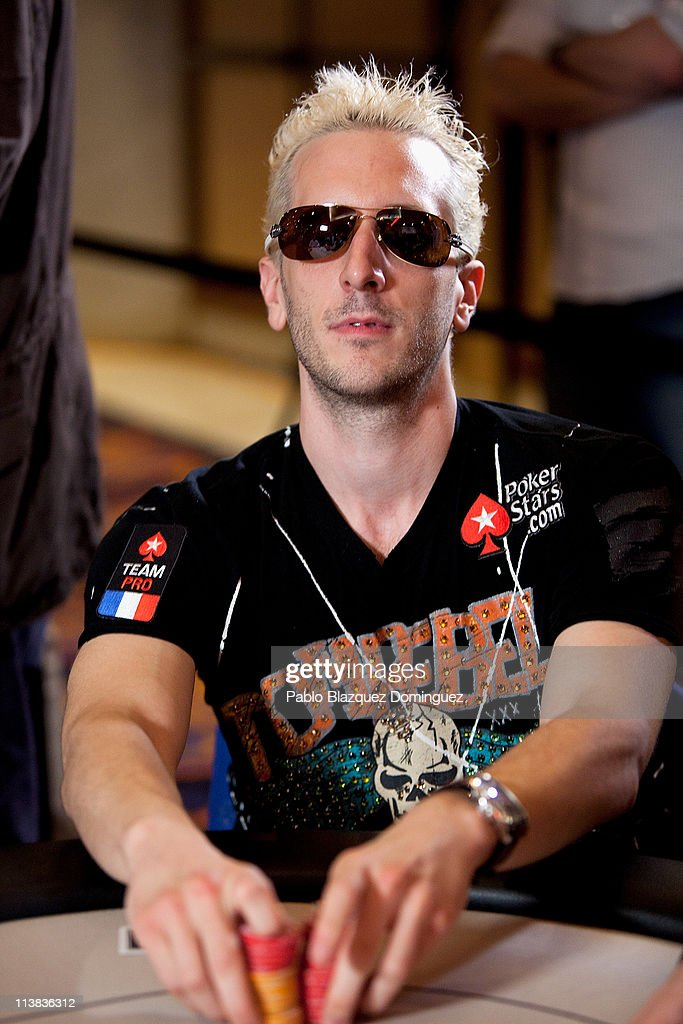 French poker player Bertrand 'Elky' Grospellier plays at the European Poker Tour 2011 in the Casino Gran Madrid on May 7, 2011 in Torrelodones, Spain.