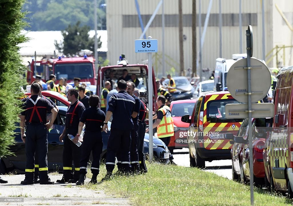 FRANCE-ATTACK-FACTORY : News Photo