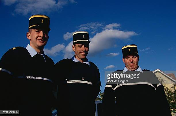 French Police in Uniform
