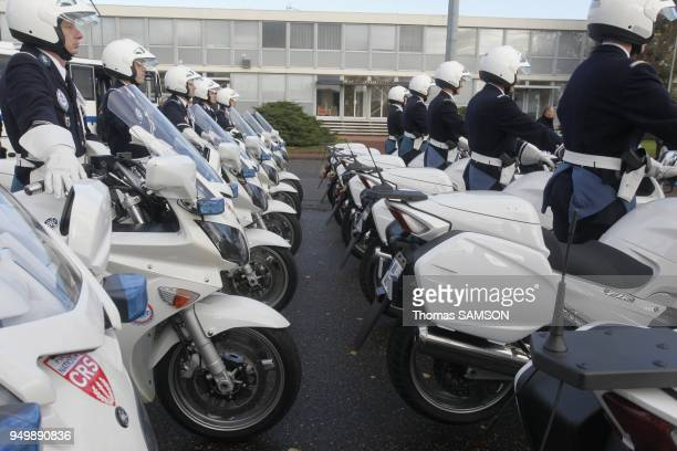 French Police motorcycle cops Motards de la Police