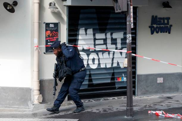 FRA: Knife Attack in Paris Near the Former Offices of the Magazine Charlie Hebdo