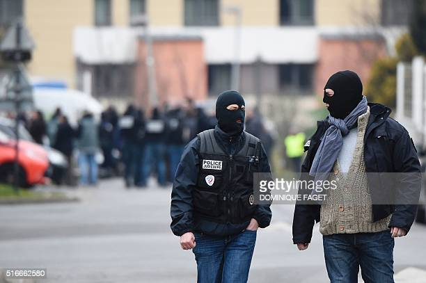 French Police Officers And Forensic Investigators Work Within A News Photo Getty Images