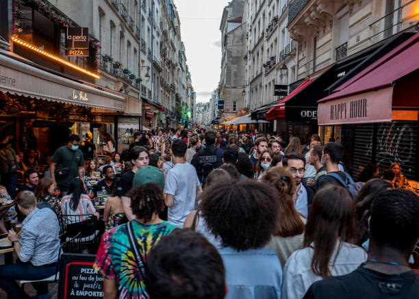 FRA: France's National Music Day Goes Ahead As Covid-19 Curfew Lifted