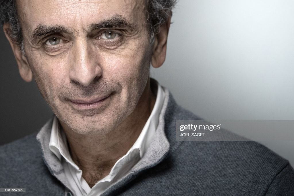 French Political Columnists Eric Zemmour Poses During A Photo Session News Photo Getty Images