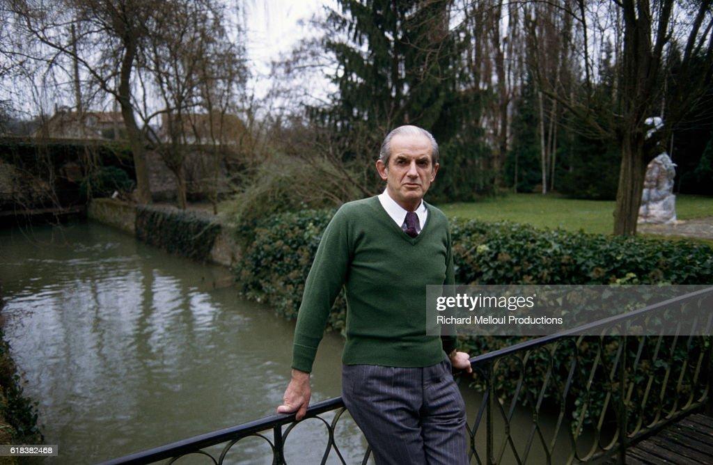 French Politician Alain Peyrefitte : Photo d'actualité