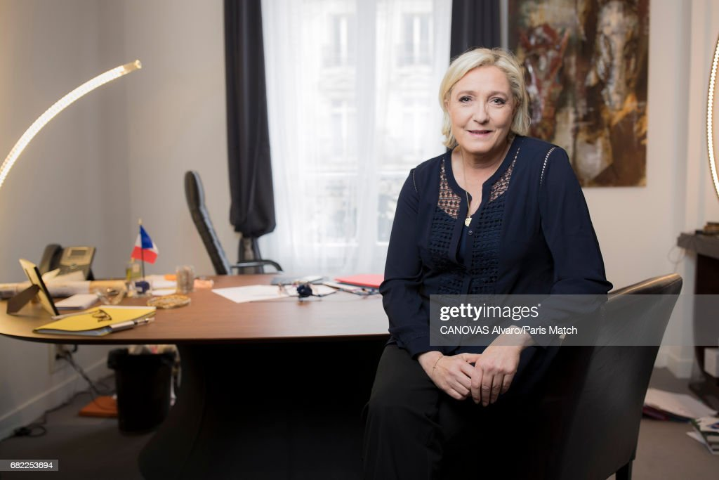 Marine Le Pen, Paris Match Issue 3546, May 10, 2017