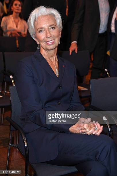 French politician Christine Lagarde attends the VDZ Publishers Night on November 4 2019 in Berlin Germany