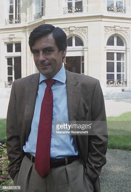 French politician François Fillon 1st September 2002 Fillon is Minister of Social Affairs Labour and Solidarity in the governnment of Jacques Chirac