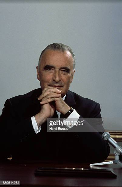 French Politician Georges Pompidou