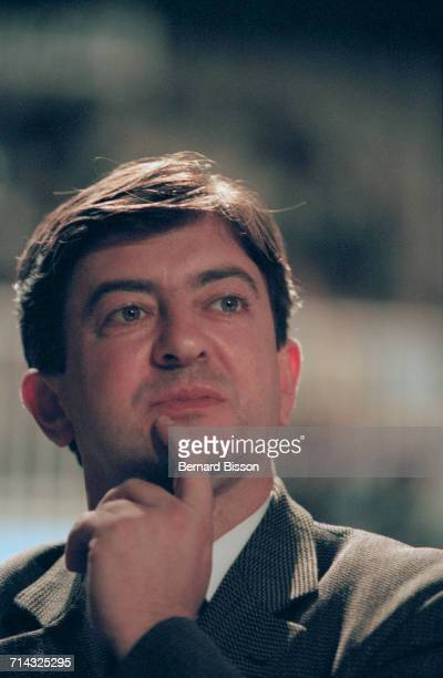 French politician JeanLuc Mélenchon at the Socialist Party conference in Brest Brittany western France 22nd November 1997 He later became the...