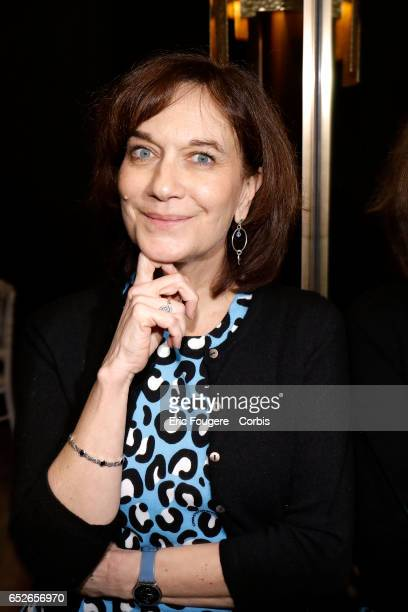 French politician Laurence Rossignol poses during a portrait session in Paris France on
