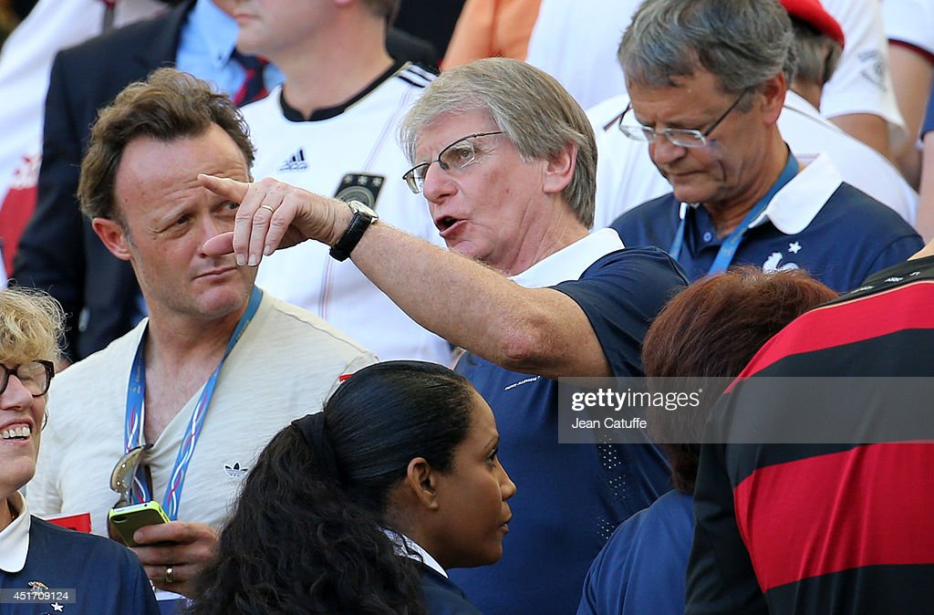 Celebrities, Royals and Politicians during 2014 FIFA World Cup Brazil