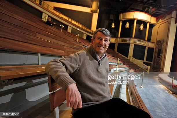 French Politician Philippe De Villiers is pictured in the historical theme park Le Puy du Fou on December 18 2010 in Les Epesses Vendee France
