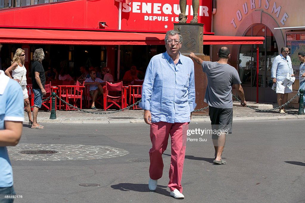 Celebrity Sighting On French Riviera : Photo d'actualité