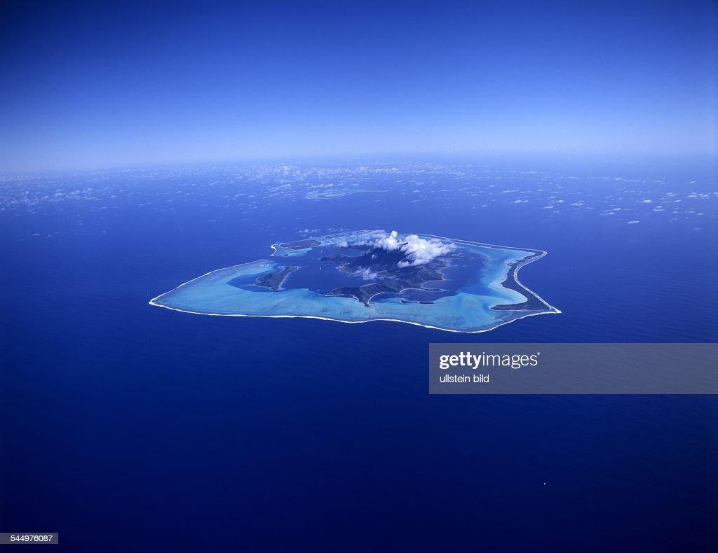 French Polynesia Bora Bora View Upon The Island News