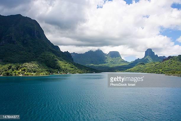 french polynesia, moorea - polinesia francesa fotografías e imágenes de stock