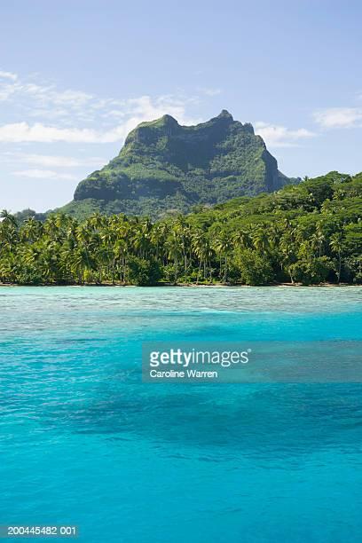 French Polynesia, Society Islands, Bora Bora, Mt Pahia