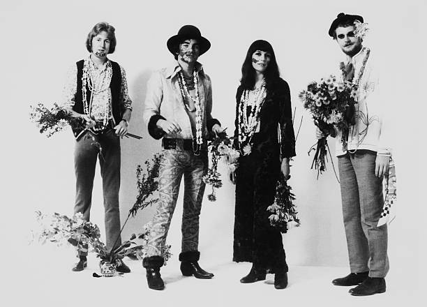 The French Hippie Group Herbs Tenders On October 12Th 1967