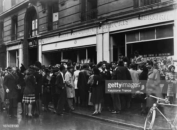 French Popular Party Bookstore In Paris News Photo Getty Images