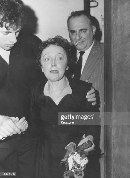 French popular singer Edith Piaf