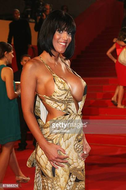 French porn star Estelle Desanges attends the Drag Me To Hell Premiere held at the Palais Des Festivals during the 62nd International Cannes Film...