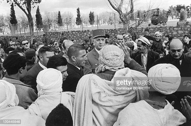 The Algerian War In Algiers Algeria In December 1960 General De Gaulle went to AlgeriaHis visit sparked off riots