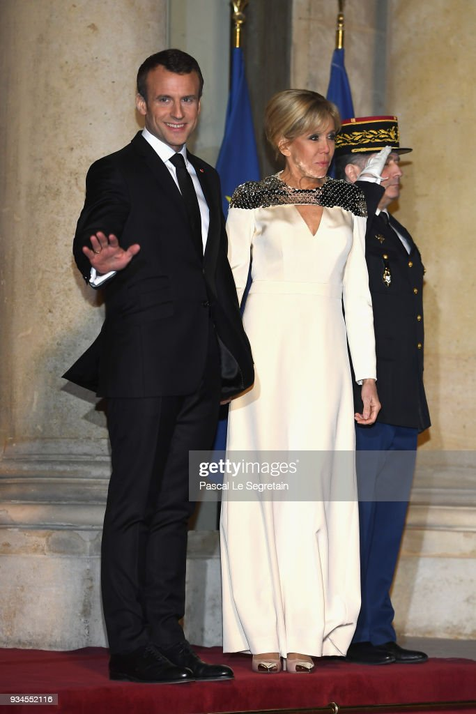 CASA REAL DE LUXEMBURGO - Página 44 French-president-emmanuel-macron-and-brigitte-macron-attend-a-state-picture-id934552116