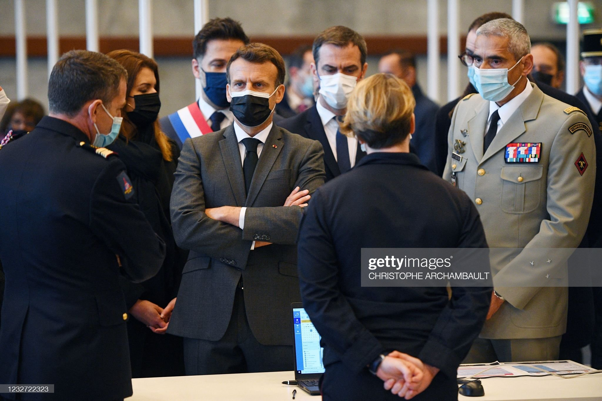 FRANCE-POLITICS-HEALTH-VIRUS : News Photo