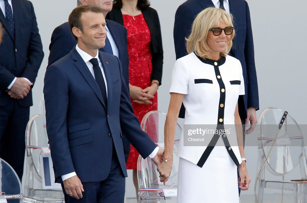 2018 Bastille Day Military Ceremony On The Champs Elysees In Paris