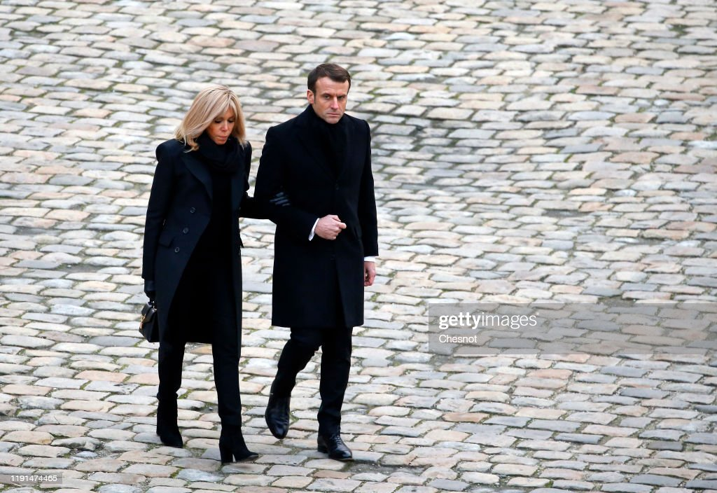 France National Tribute To French Soldiers Killed In Mali At Les Invalides : News Photo